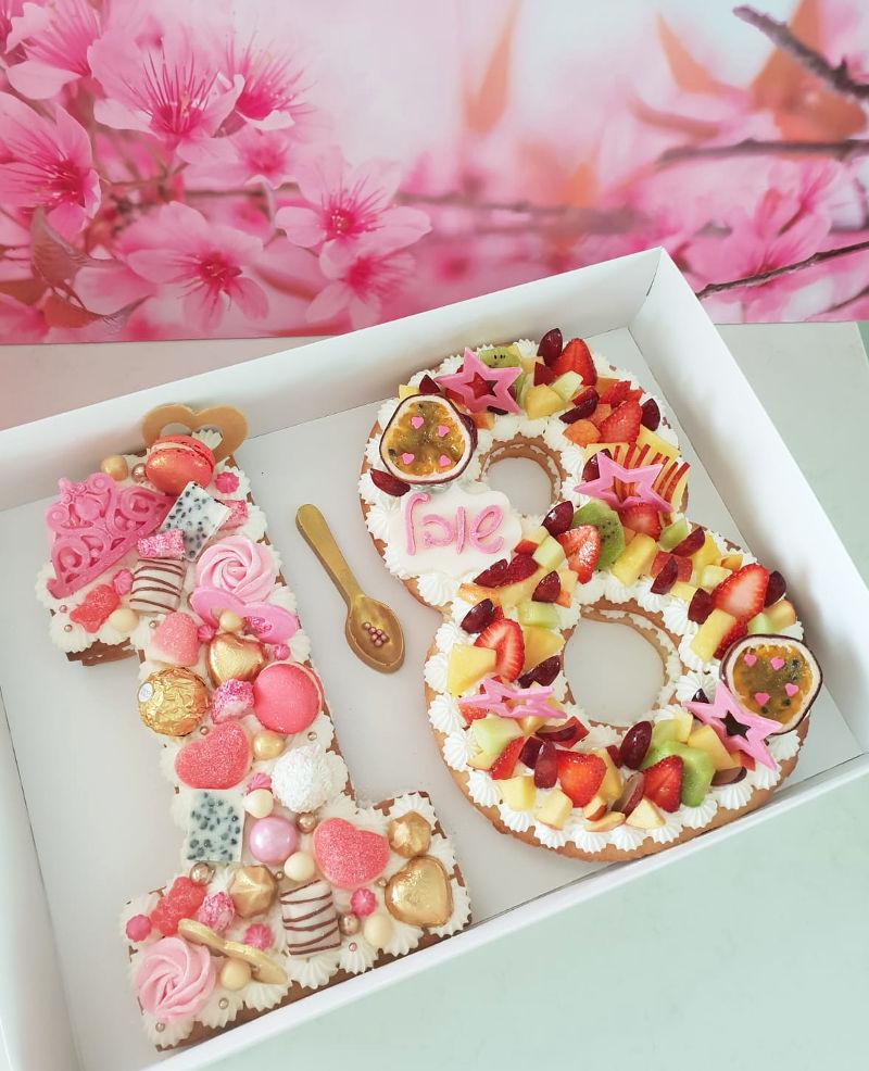 עוגה לגיל 18
