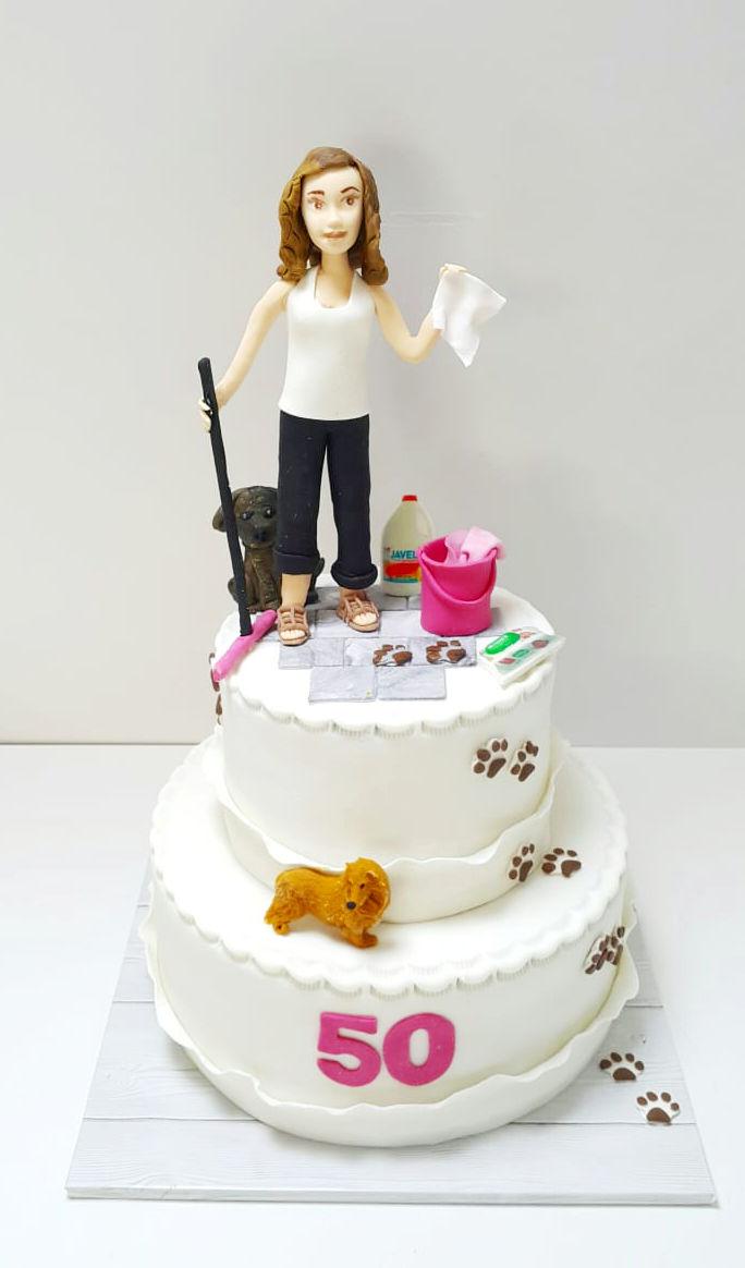 עוגה מעוצבת לאשה לגיל 50