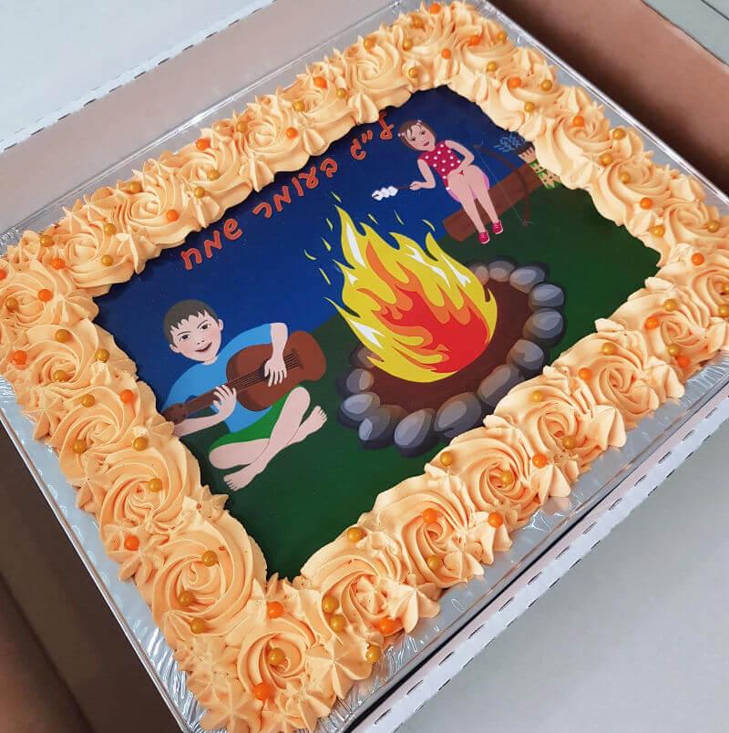 עוגה לג בעומר