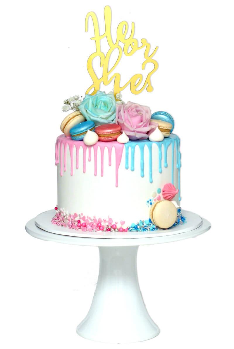 עוגה לחשיפת מין העובר