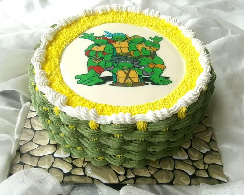 עוגת יום הולדת צבי הנינגה