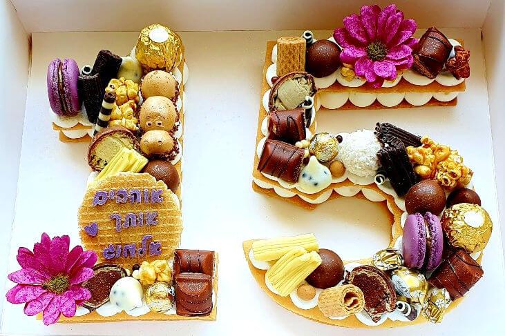 עוגה ליום הולדת 15