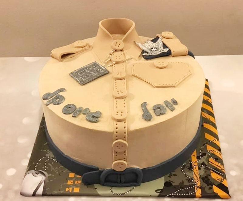 עוגה למסיבת גיוס