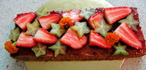 עוגה לשבת עם פירות