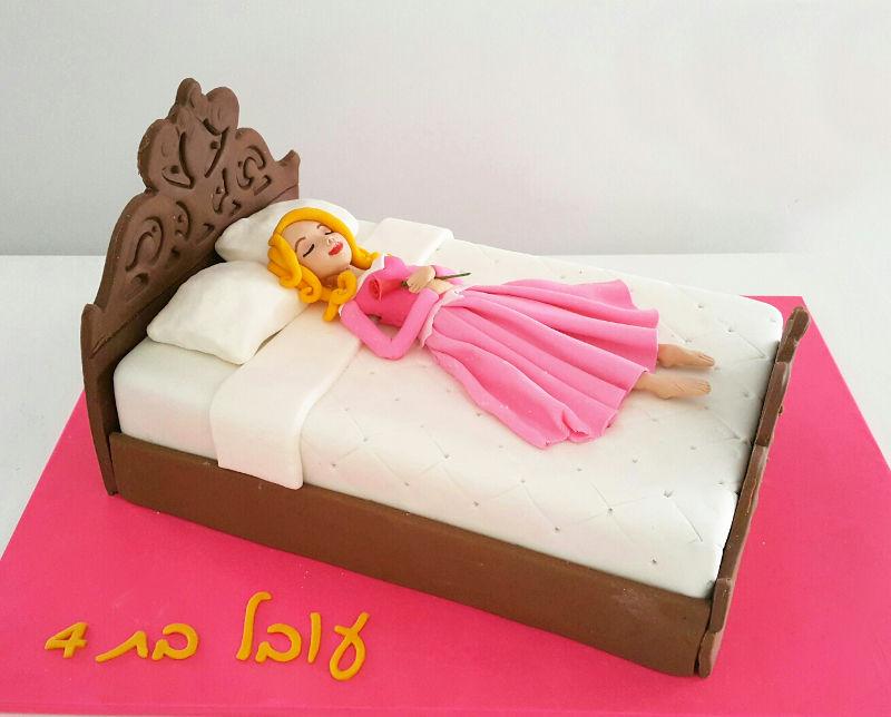 עוגת נסיכות מיוחדת היפהפייה הנרדמת