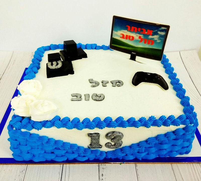 עוגה מיוחדת לבר מצווה