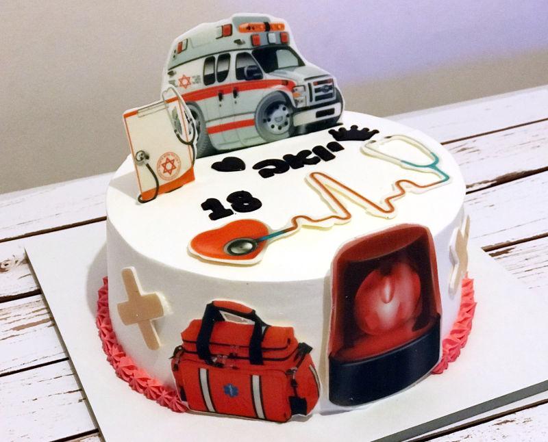 עוגה מיוחדת לחובש