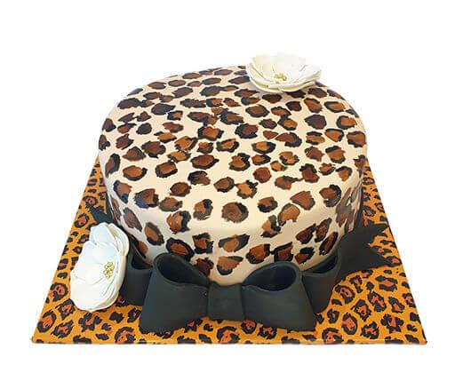 עוגה מנומרת לאמא