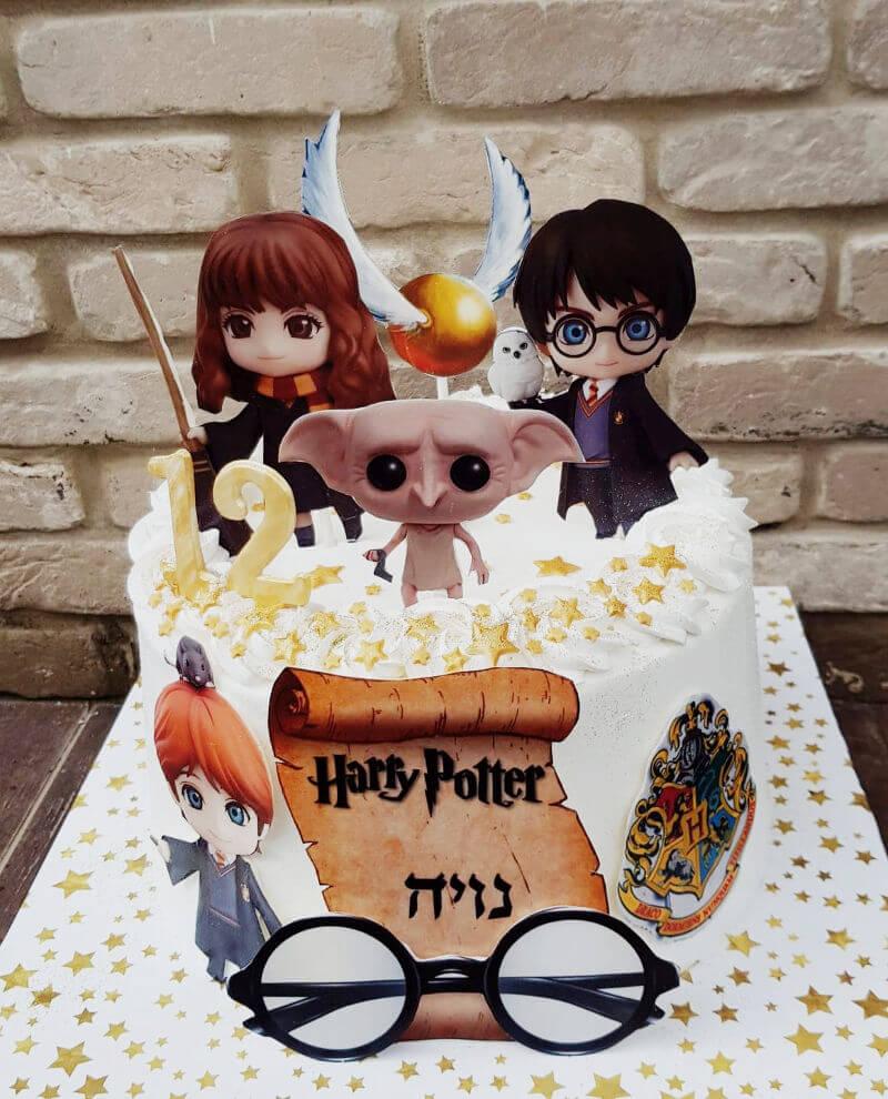 עוגה מעוצבת הארי פוטר