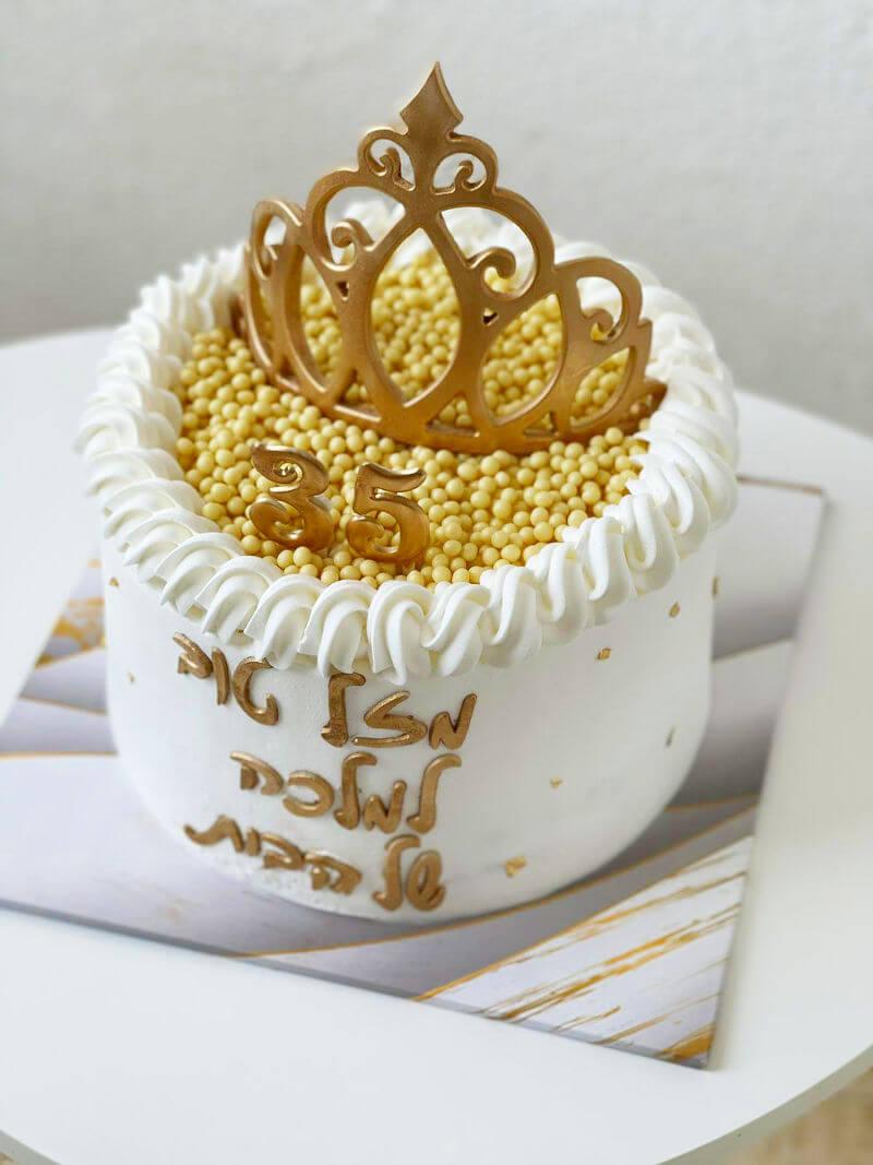 עוגה מעוצבת לאשה ללא גלוטן