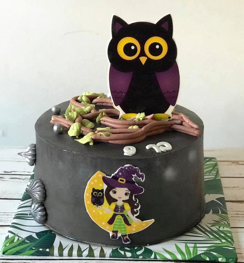 עוגה מעוצבת לבת ינשוף
