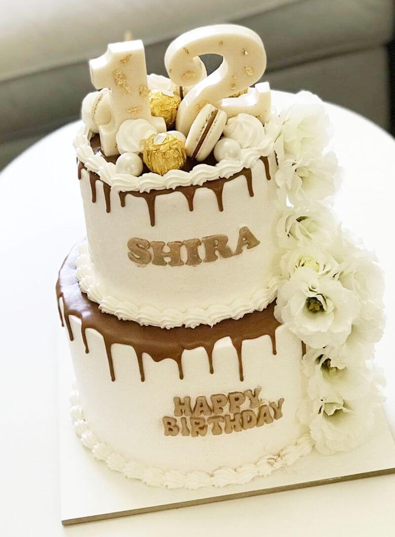 עוגה מעוצבת לבת מצווה