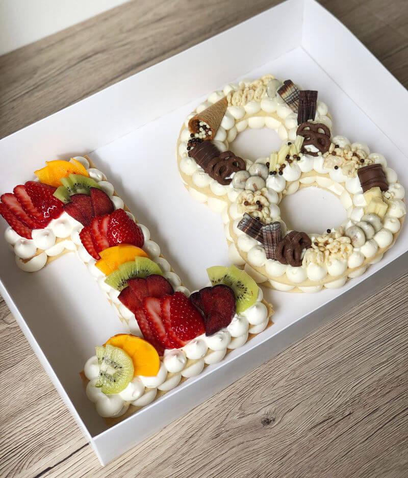 עוגה מעוצבת לגיל 18