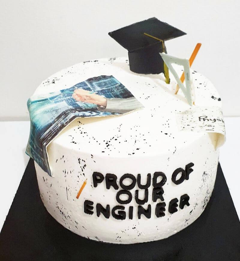 עוגה מעוצבת לסיום התואר