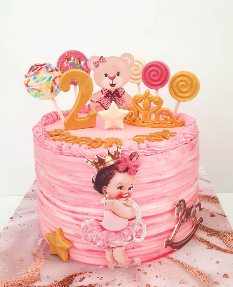 עוגת יום הולדת פרווה מהממת לפעוטות