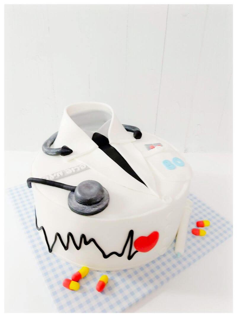 עוגה מעוצבת לרופא פרופסור