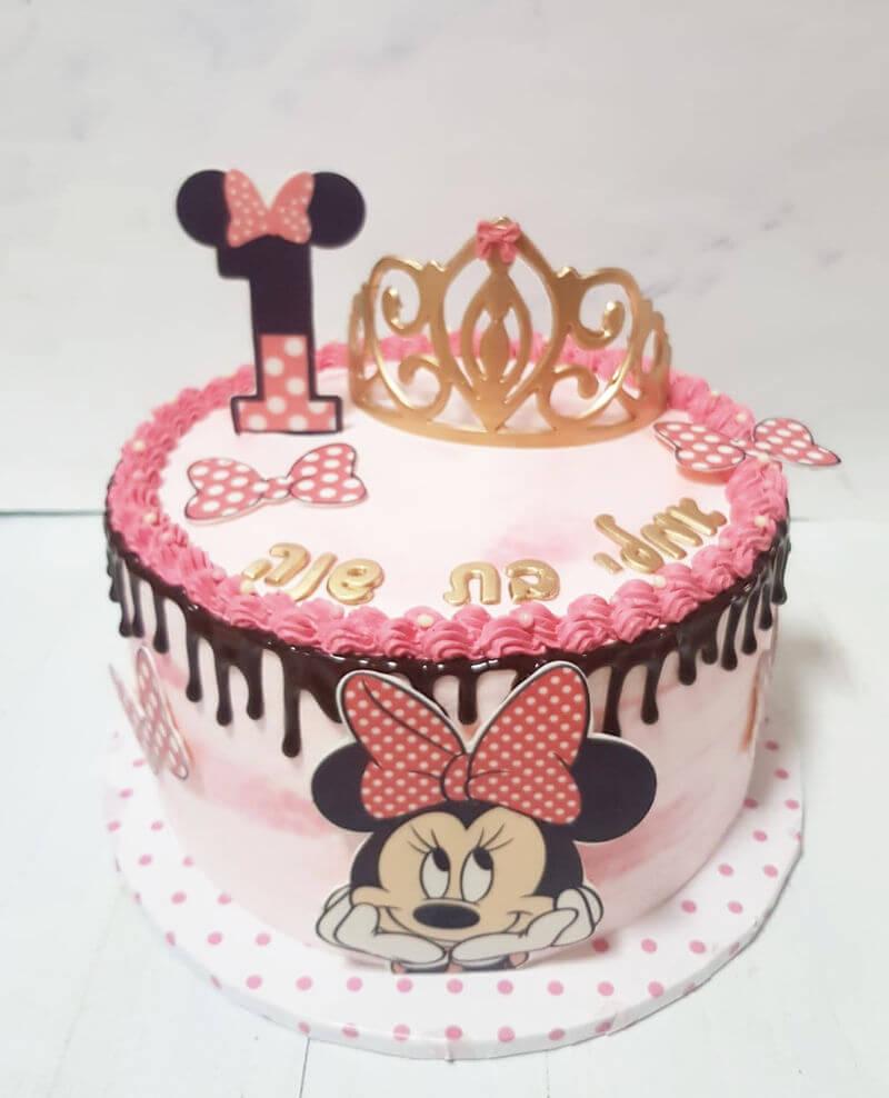 עוגה מעוצבת מיני מאוס