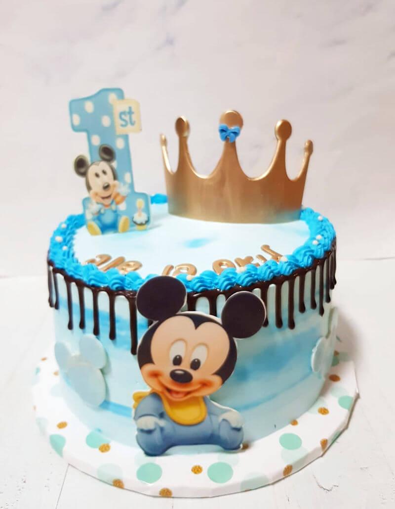 עוגה מעוצבת מיקי מאוס