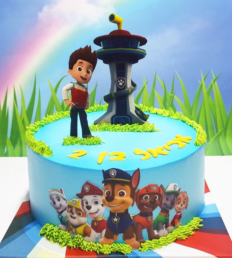 עוגה מעוצבת מפרץ ההרפתקאות