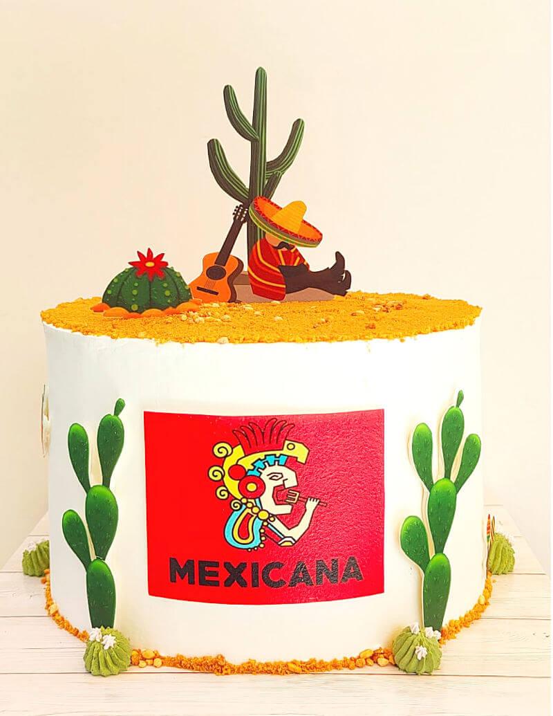 עוגה מעוצבת מקסיקני