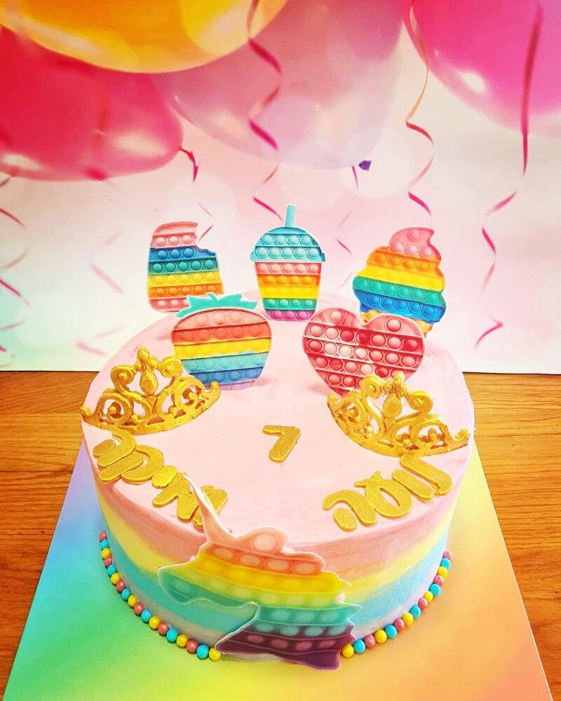 עוגה מעוצבת פופיט