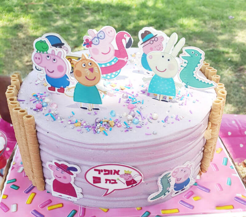 עוגה מעוצבת פפה
