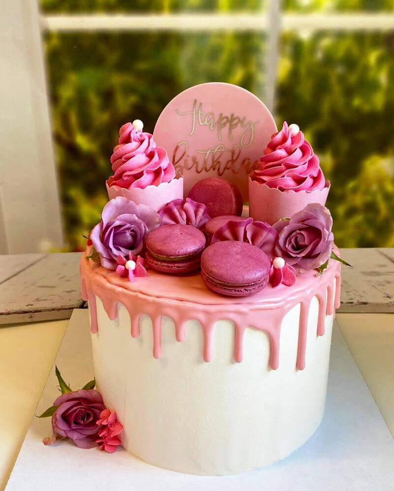 עוגה מעוצבת פרווה ליום הולדת