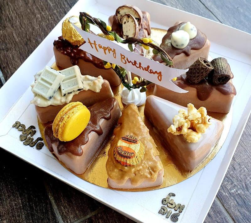 עוגה מעוצבת ב8 טעמים