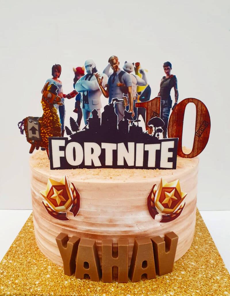 עוגה פורטנייט פרווה