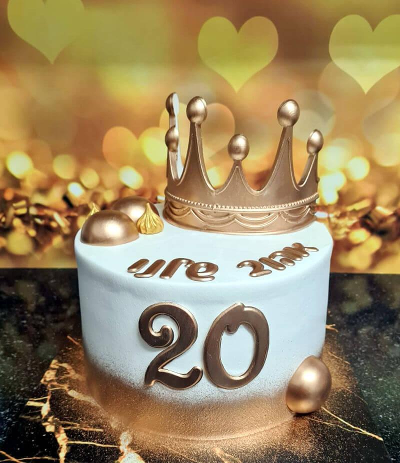 עוגה פרווה לגבר ליום הולדת