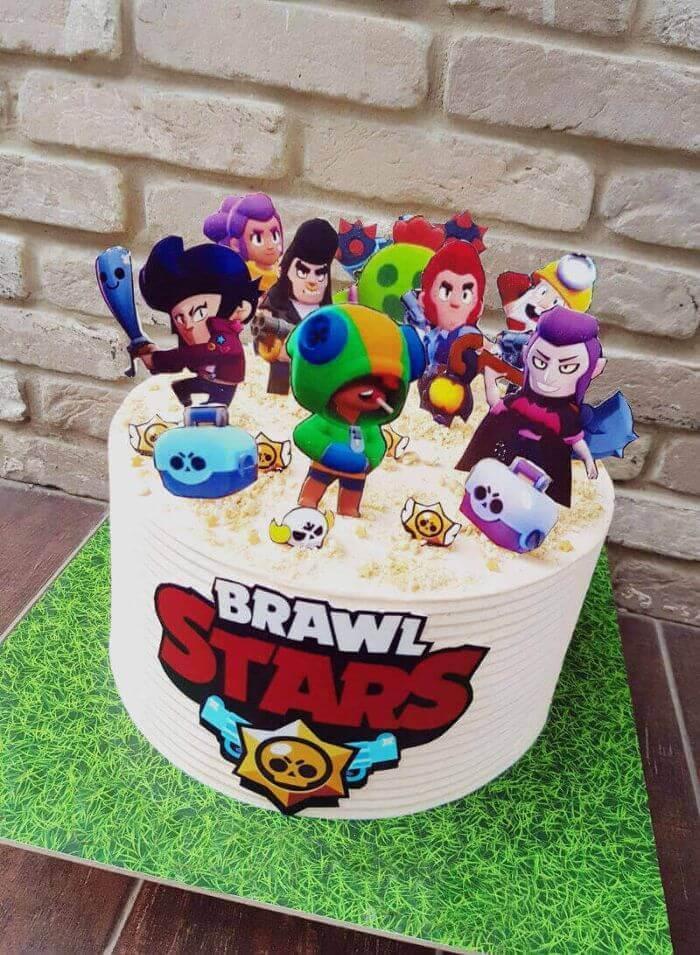 עוגה של בראול סטארס BRAWL STARTS