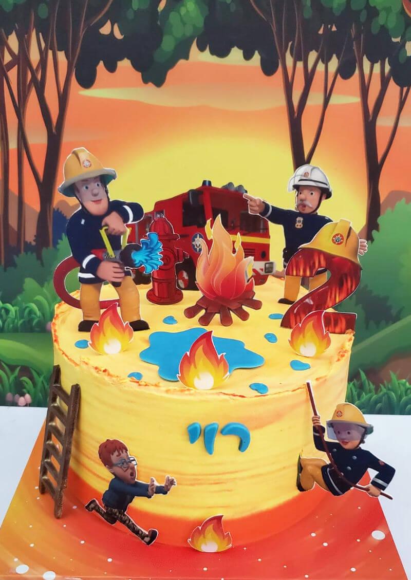 עוגה של סמי הכבאי