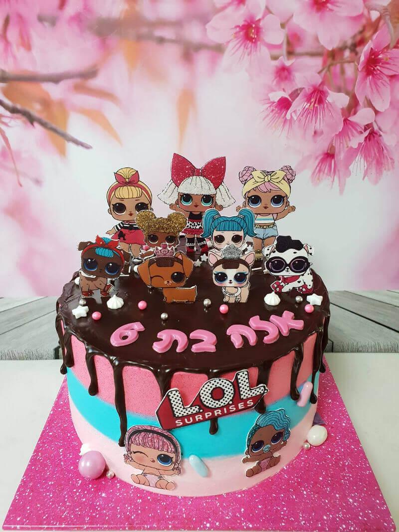עוגה LOL מדהימה