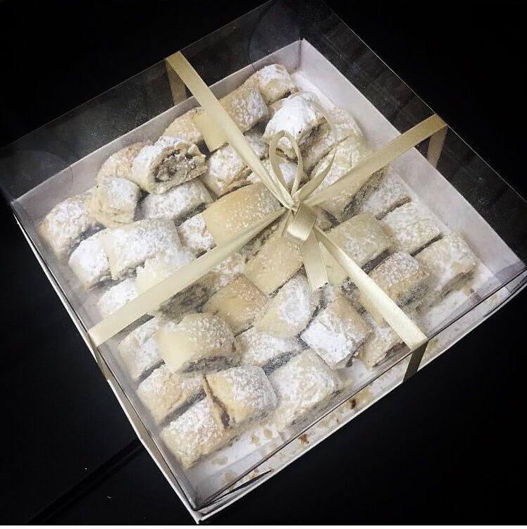 מארז עוגיות מגולגלות