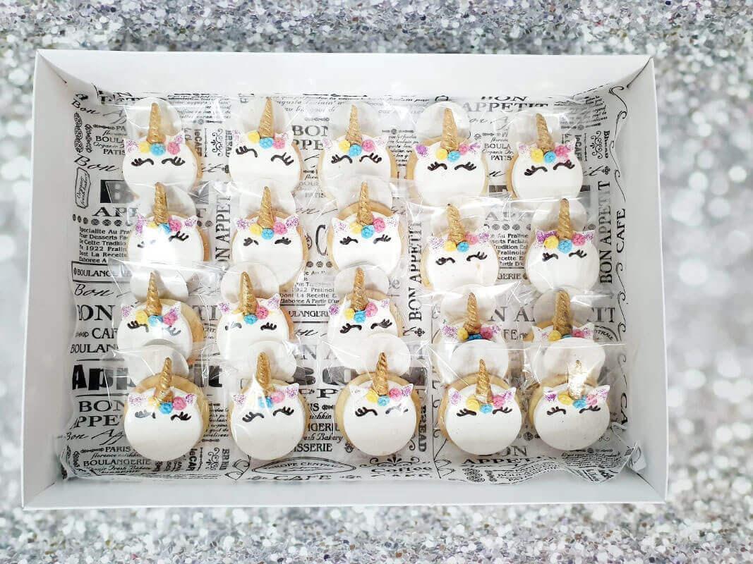 עוגיות מעוצבות חד קרן
