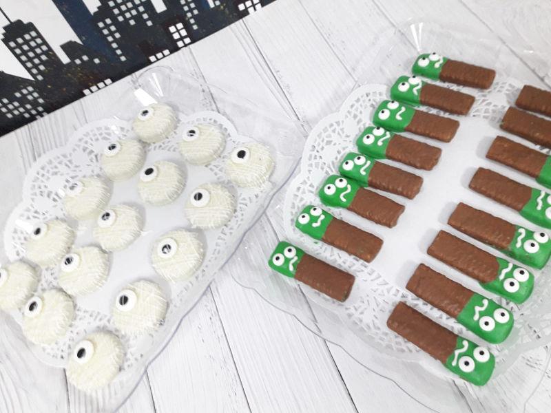 עוגיות מעוצבות להאלווין