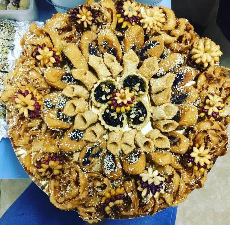 עוגיות דבש מגש