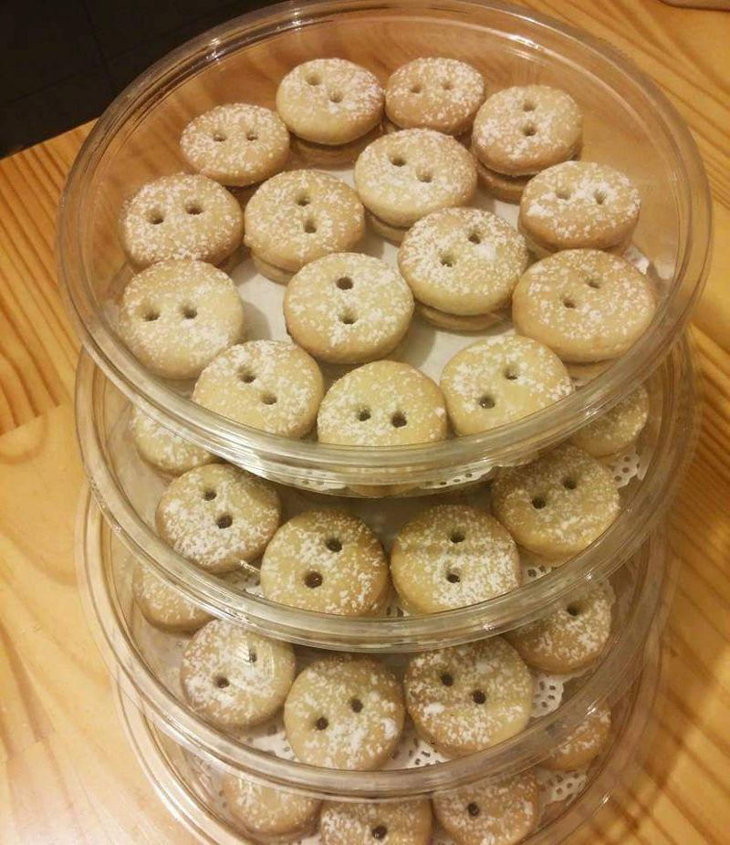 עוגיות סנוויץ עגולות