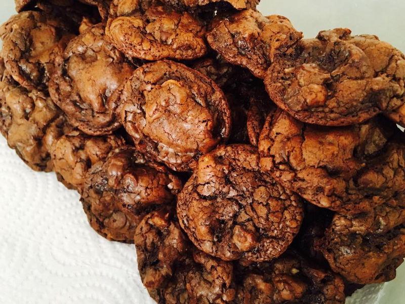 עוגיות פאדג שוקולד