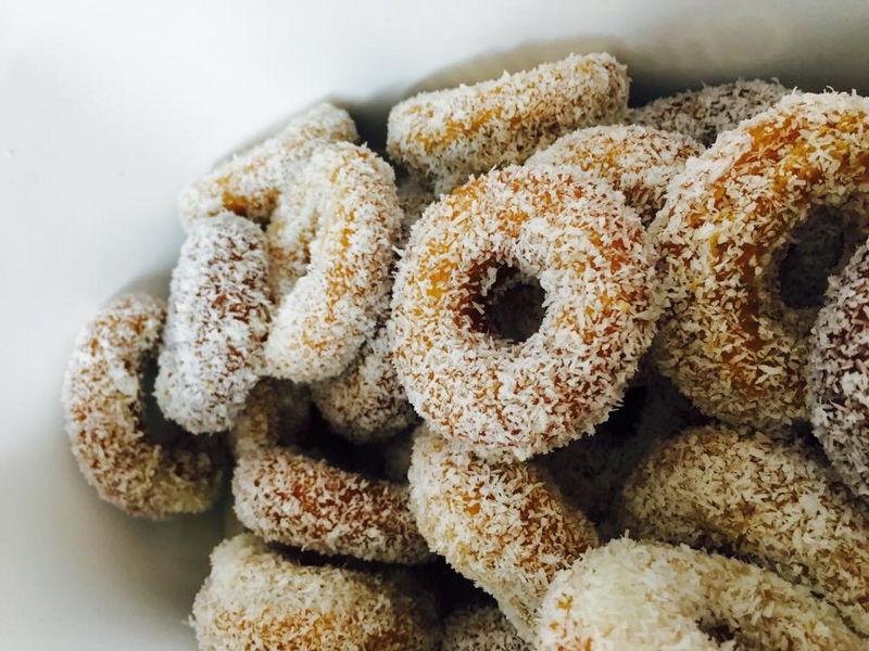 עוגיות דבש קוקוס