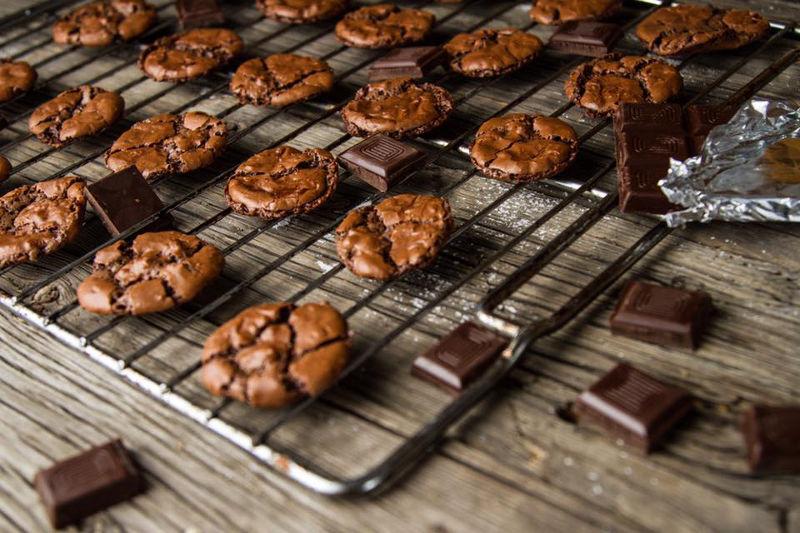 עוגיות שוקולד פאדג