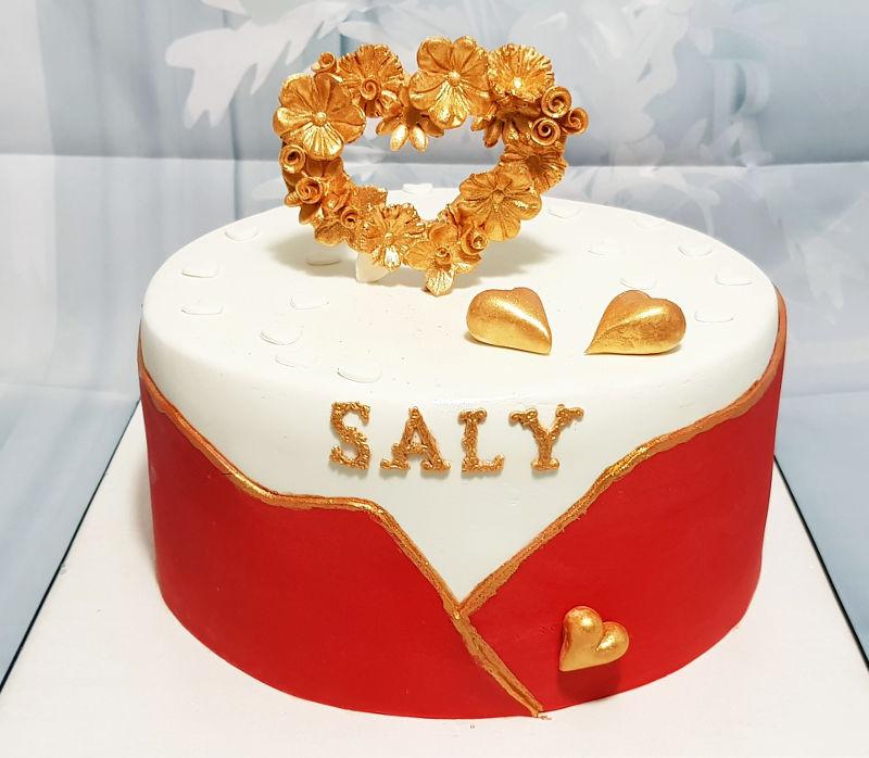 עוגת יום הולדת באהבה