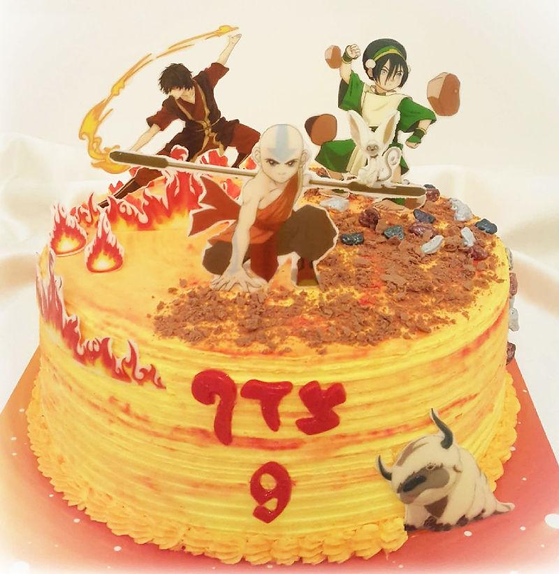 עוגת אווטאר מיוחדת ליום הולדת
