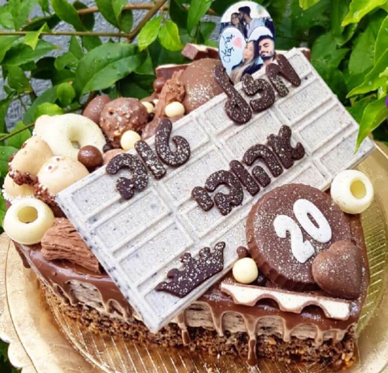 עוגת אוריאו לב