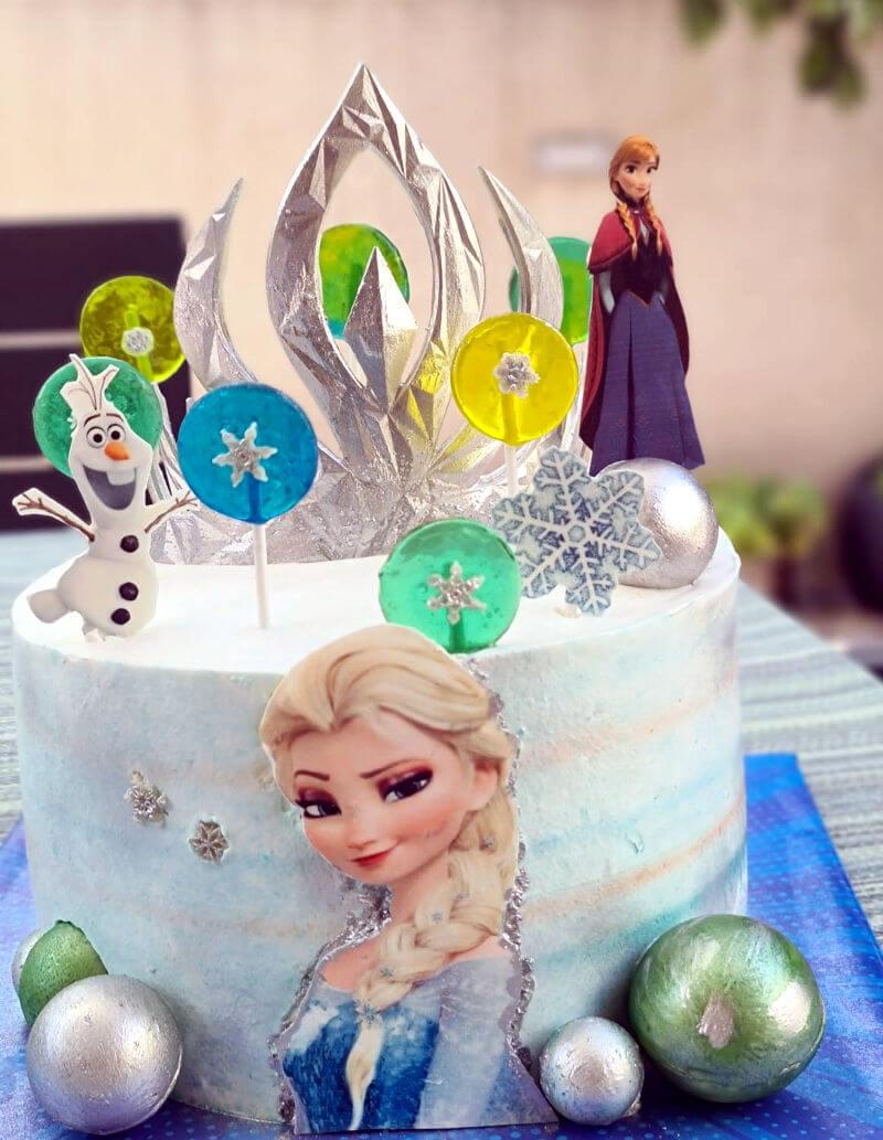 עוגת אלזה ואנה ללא גלוטן