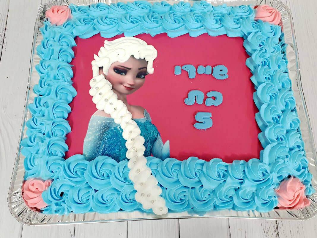 עוגת אלזה לגן
