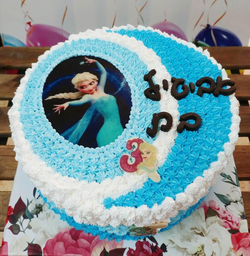 עוגת אלזה מעוצבת
