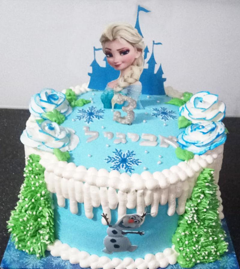 עוגת אלזה ופרוזן