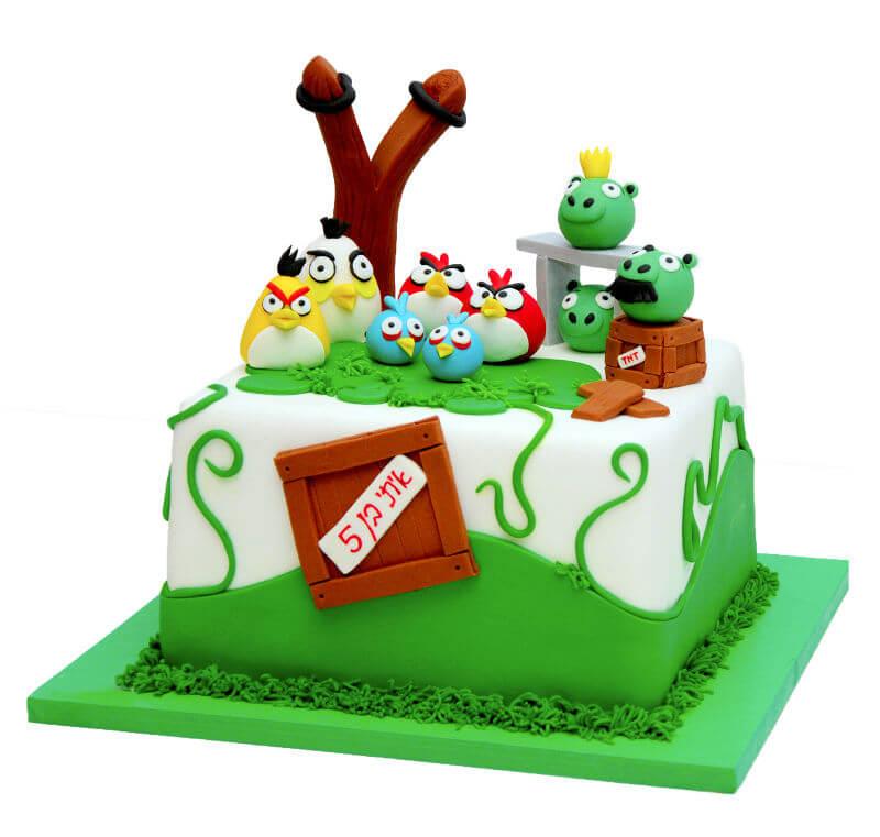 עוגת אנגרי בירדס