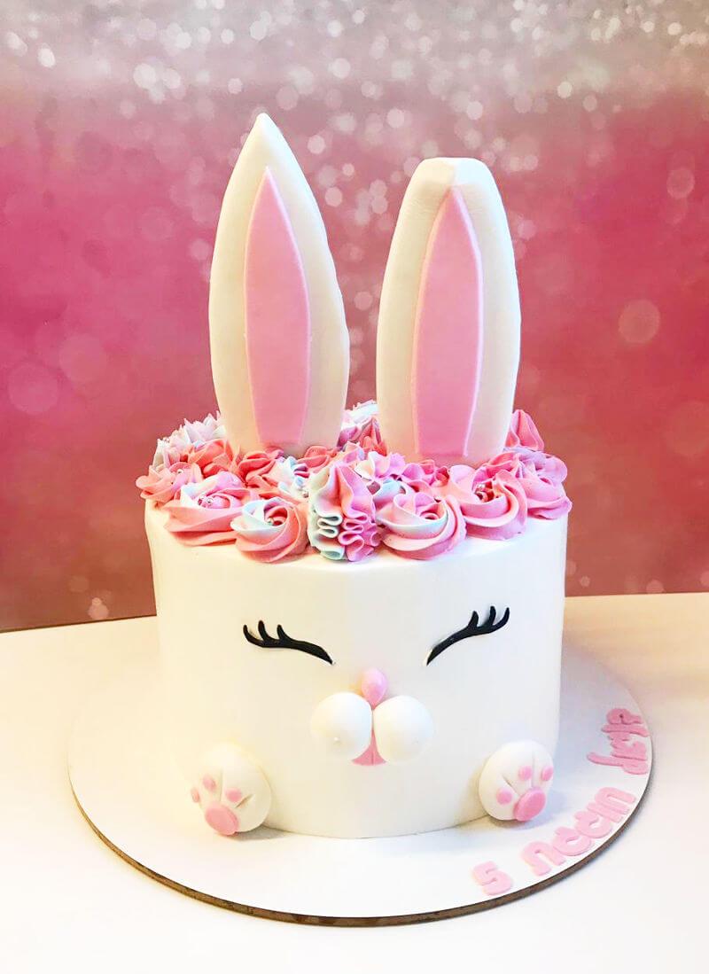 עוגת זילוף ארנב